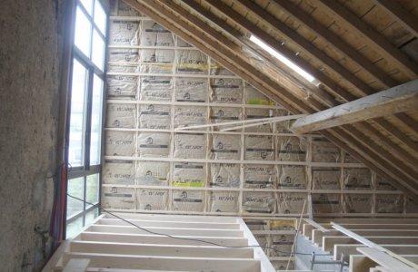 Isolation de mur et sous toiture Saint-Nectaire