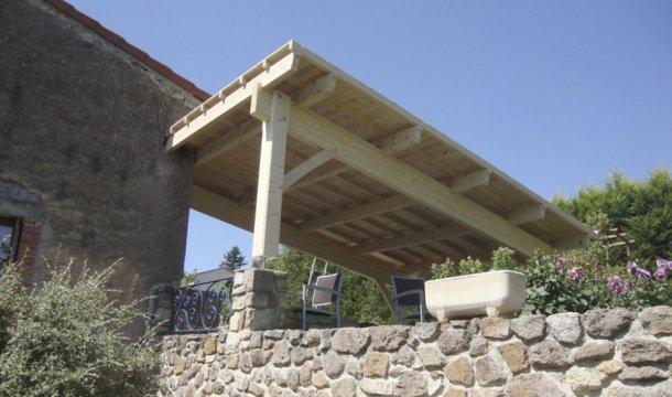 Appenti pour terrasse Saint-Nectaire