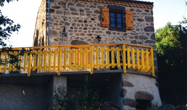 Balustrade Saint-Nectaire