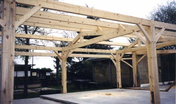 Ossature en bois Saint-Nectaire